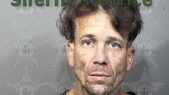 Stephen Aument, 41, charges: 3 counts of vop felony; grand theft of motor vehicle; poss firearm/weapon/ammo by convicted felon.