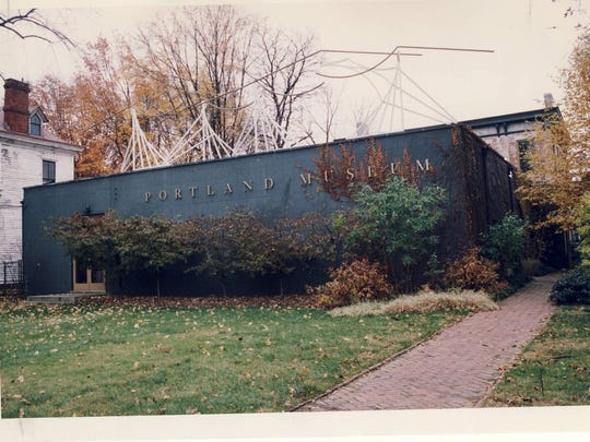 The Portland Museum, 2308 Portland Ave., shown in 1993, has been expanded and improved over the years.