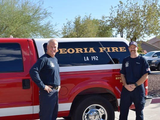 New Peoria Fire emergency vehicle