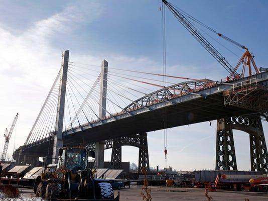 AP NEW YORK INSFRASTRUCTURE-KOSCIUSZKO BRIDGE A USA NY