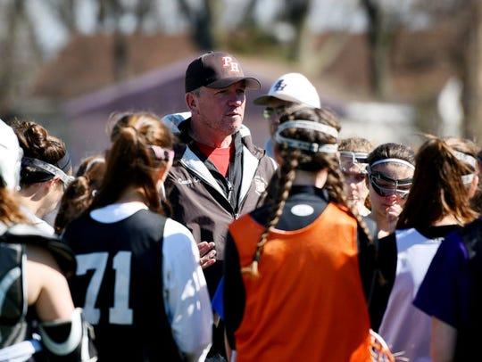 Coach Scott Ernest has led the Pascack Hills girls