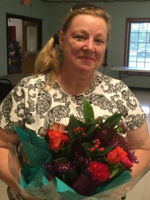 Sally Rigden was named Woman of the Year by the Southern Finger Lakes Women. The award recognizes a woman who has distinguished herself in her career and her community.