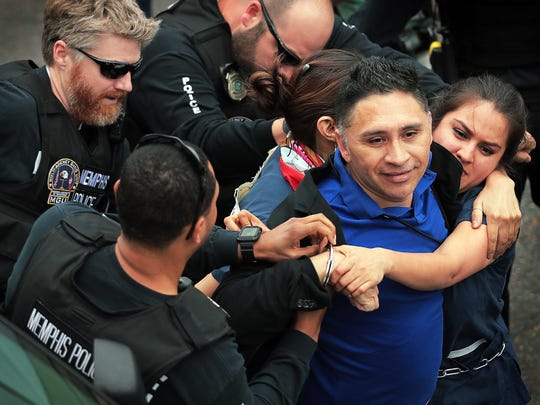 Manuel Duran, a reporter for Spanish-language media, was arrested during a Memphis protest on April 3. His fate is now in the hand of immigration judges.