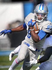 MTSU's Richie James (87) returns as one of C-USA's