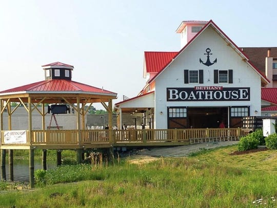 The Bethany Boathouse is located at 39817 Hickman Plaza Road.