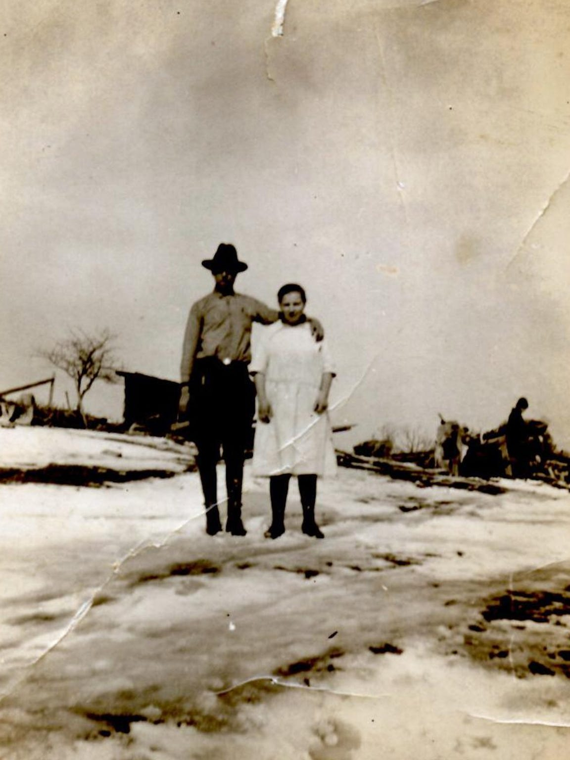 Jay Marion's grandfather and grandmother Mullenax,