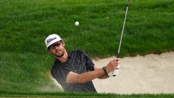 Lanto Griffin, playing the Zozo Championship last month, is the defending champion this week in the Vivint Houston Open.