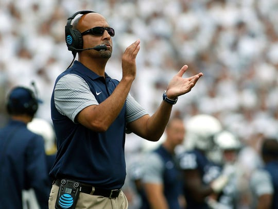 Do fans buy into James Franklin's preaching about patience?