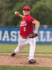 Coldwater pitcher Brandon Lewis is among three Cardinals