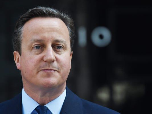 EPA BRITAIN POLITICS EU REFERENDUM REACTIONS POL GOVERNMENT REFERENDA GBR