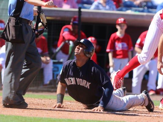 NY Yankees vs Philadelphia Phillies