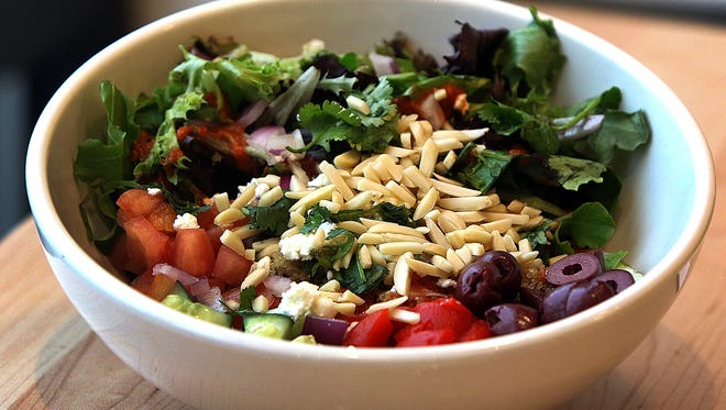 Freshii, a health-casual, fresh food franchise offering a range of wraps, salads, soups, juices, etc. that opened its first NJ outlet in Flemington.