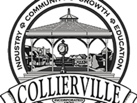 Seal of town of collierville
