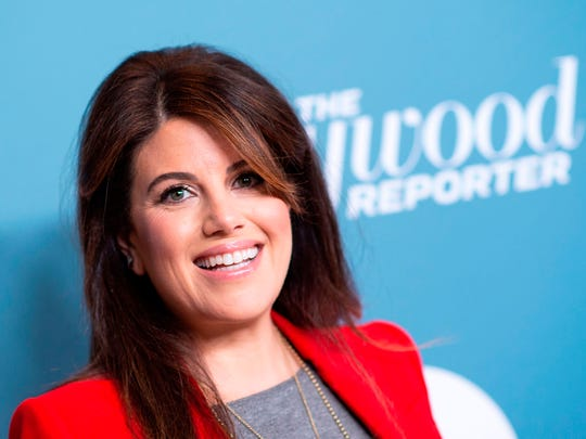 Monica Lewinsky attends The Hollywood Reporter's Power