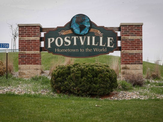 The small northeast Iowa community of Postville has