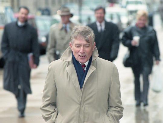 Judge William Swain Lee on Feb. 5, 1998.