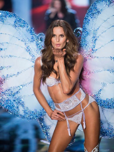 Butterfly kisses from a VS Angel!