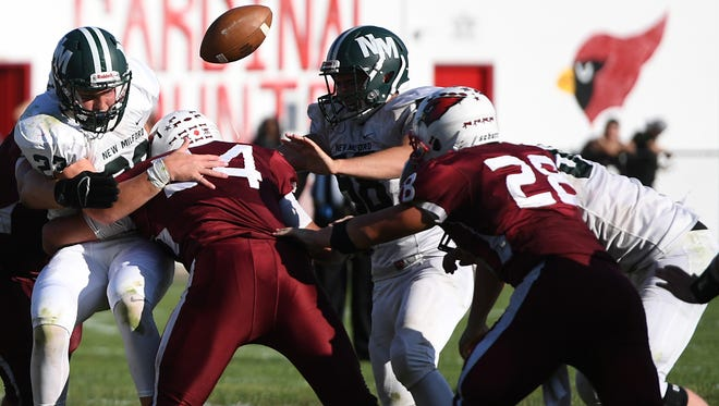 Fumble? Or not? Next year's New Milford/Pompton Lakes football game is slated to be one of the first to use instant replay in the fall.