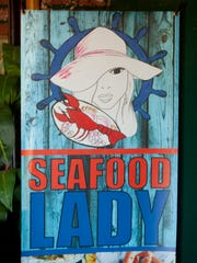 The Seafood Lady Restaurant is located on the west