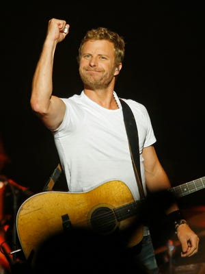 Dierks Bentley headlined the Country Cares benefit concert for the families of the firefighters who died in the Yarnell Hill Fire in 2013.