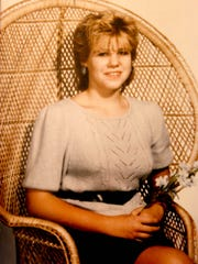 This is a photo of Cindy Zarzycki at about age 13,