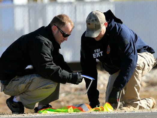 FBI agents look at evidence outside Excel Industries