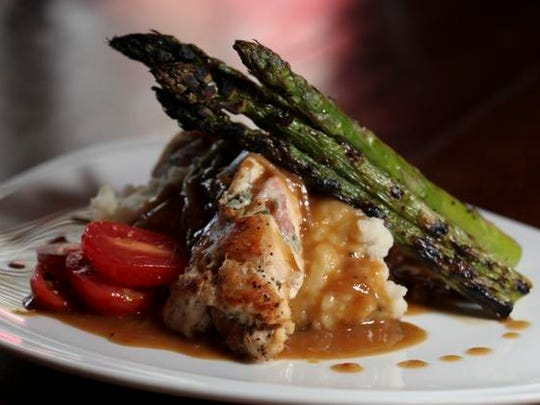 The Chicken Saltimbocca served at the Village Anchor in Anchorage.