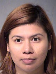 Viridiana Hernandez was arrested along with three others