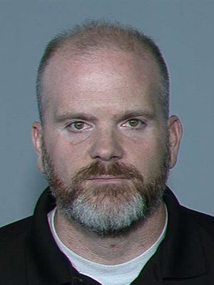 Former Phoenix police officer Richard Denny, 39, entered a not guilty plea during his arraignment June 28, 2016.