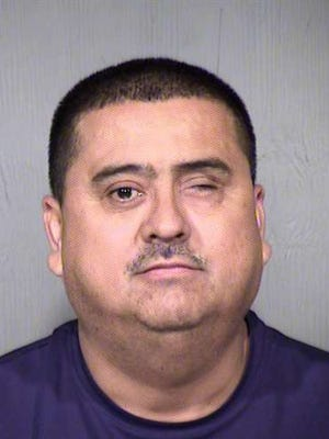 Jose Vicente Morales was arrested on Sept. 9 and booked without bail.