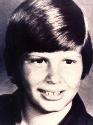 A photo of Johnny Gosch, who was kidnapped in 1982.