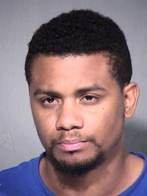 Redeem Green Robinson, a candidate for the state Senate, is pictured in this booking mugshot.