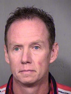 Christopher Wade Nelson, 41, arrested on charges of theft by misrepresentation, identity theft and fraud schemes after a yearlong investigation by the Scottsdale Police Department.