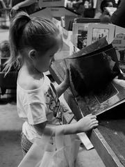 There is something for all ages at the VNSA Used Book Sale.