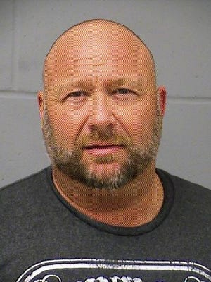Alex Jones was arrested earlier this year on a misdemeanor charge of driving while intoxicated. Prosecutors this month decided not to pursue the case.