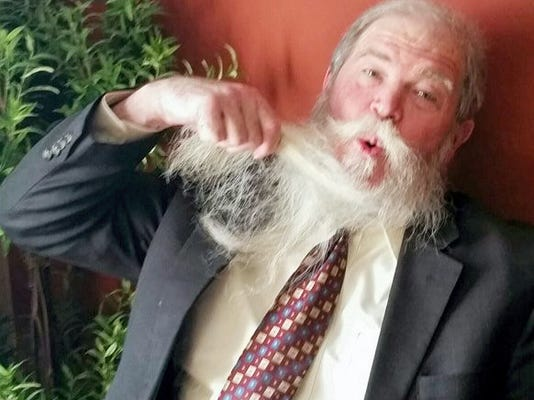 Attorney Mike Fenton and his trademark beard.