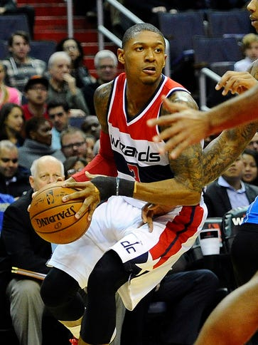 Bradley Beal scored a team-high 21 points in his first