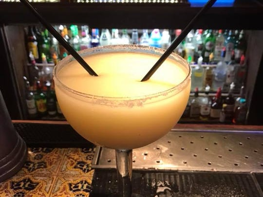 You might need an Uber after ordering this margarita, a 42-ounce cocktail of deliciousness at Los Bandidos de Carlos & Mickey's.