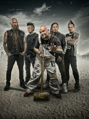 American heavy metal band Five Finger Death Punch returns