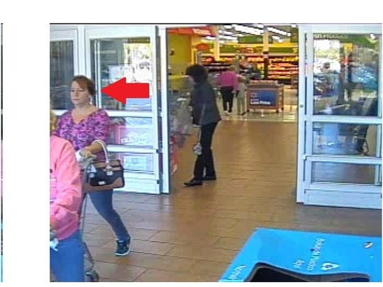 Suspect in Walmart iPhone theft.