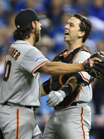 Madison Bumgarner has the lowest ERA in World Series