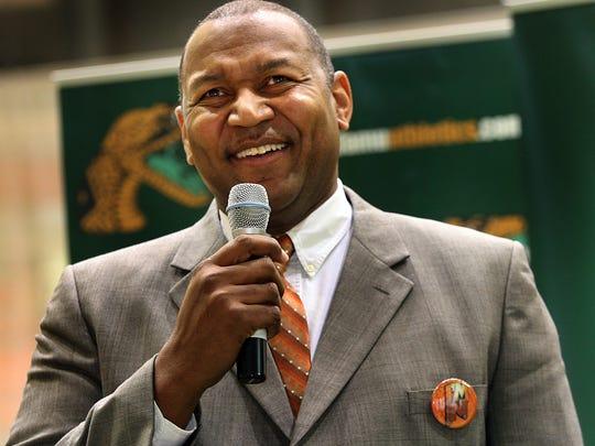 Former FAMU basketball coach Clemon Johnson.