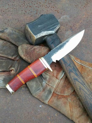 "A Montana Hammer knife called ""Semper Fi"""