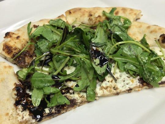 Walnut pizza from La Pizzetta.
