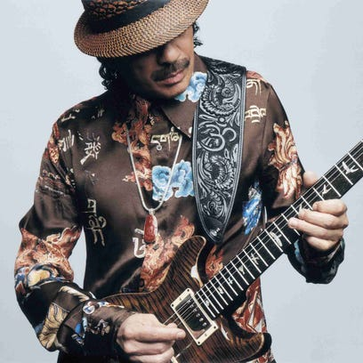 Carlos Santana is still preaching the 'Power of Peace' nearly 5 decades after Woodstock (and it still sounds good)
