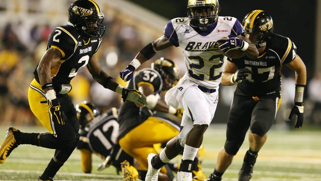 Senior running back Darryan Ragsdale and his Alcorn State teammates are ranked No. 1 in two HBCU polls.