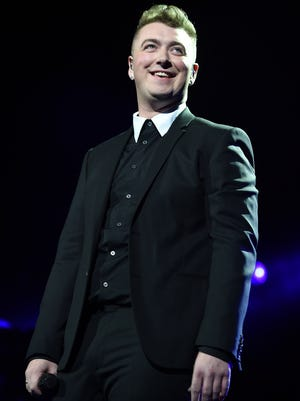 Sam Smith at Madison Square Garden on January 15, 2015 in New York City.