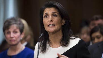 South Carolina Governor Nikki Haley testifies during her confirmation hearing for U.S. Ambassador to the United Nations before the Senate Foreign Relations committee on Capitol Hill in Washington, D.C., on Jan. 18, 2017.