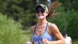 Meghan Burk competes in the 2015 Rock Tahoe Half Marathon.