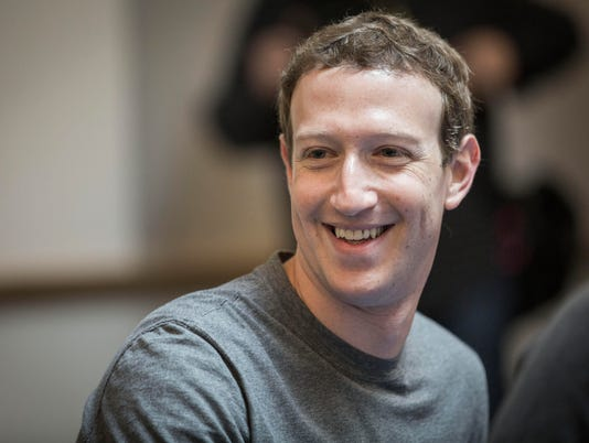 USP NEWS: MARK ZUCKERBERG A USA CA